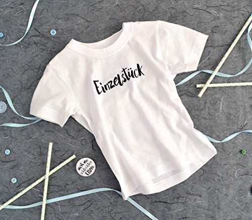 Baby-Shirt Einzelstück mit passenden Button - Nicht von schlechten Eltern, Geschenk zur Geburt
