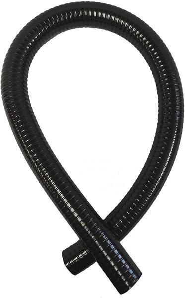 TEKTUBE 3 4 Dia X 25 Black Schedule 40 Ultra Flexible PVC Pipe Made In The USA