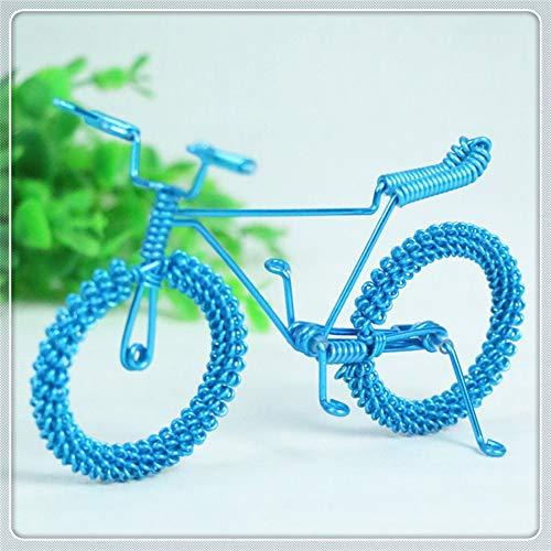 Metalen fiets, zonnebril display rekwisieten, zonnebril display stand, decoratieve kleine ornamenten