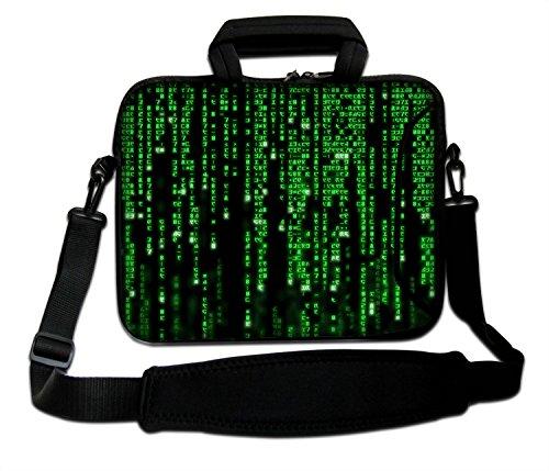 LUXBURG® 15 inch schoudertas notebooktas laptoptas tas tas met draagriem gemaakt van neopreen voor laptop/notebook computer