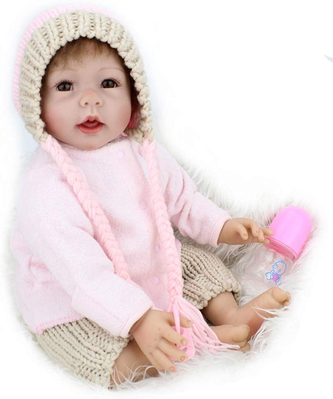 Tienda 2018 Candyana Reborn bebé muñeca 22-Pulgadas 55 cm cm cm de Tela de Silicona bebés con Niños muñecas de Ropa  echa un vistazo a los más baratos