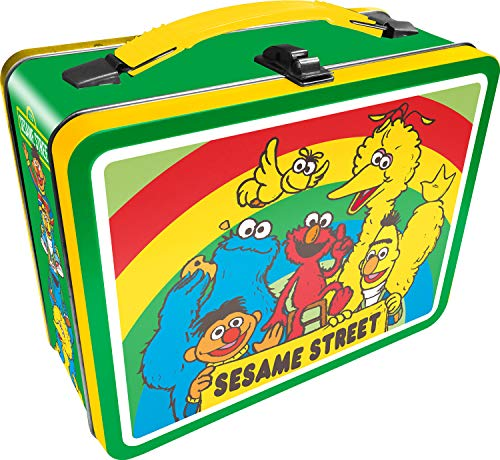 AQUARIUS Sesame Street Cast Gen 2 Tin Fun Box, Multicolor (48245)