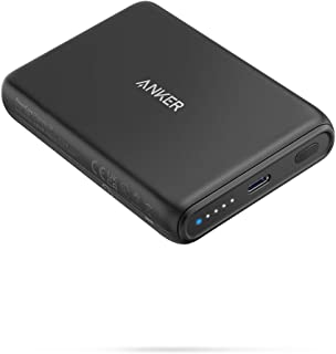 Anker Magnetic Wireless Portable Charger, PowerCore Magnetic 5K Wireless 5,000mAh Power Bank with USB-C Cable, Design for ...