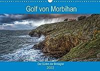 Golf von Morbihan, der Sueden der Bretagne (Wandkalender 2022 DIN A3 quer): Entdecken Sie das Département Morbihan, Landschaften zwischen Land und Meer (Monatskalender, 14 Seiten )