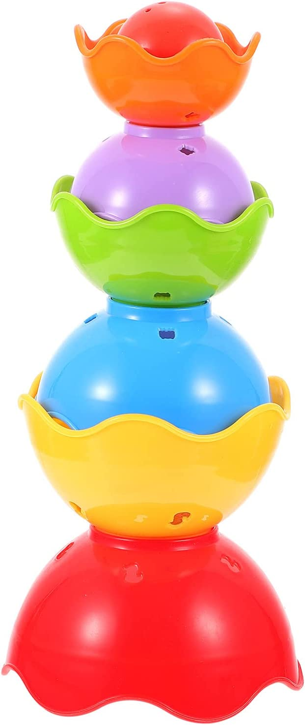 Balacoo Stacking Cups Virginia Mesa Mall Beach Mall Baby Toy for S Stack- Bath up Infants
