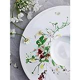 Rosenthal Brillance Wildblumen-Teller, tief, Porzellan, Mehrfarbig, 21 cm - 5