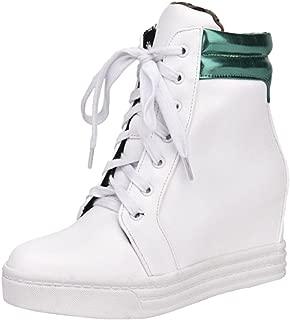 VulusValas Women Wedge Heel Sneakers