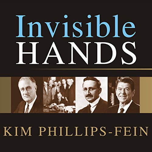 Invisible Hands audiobook cover art