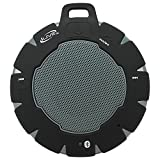 iLive Waterproof Wireless Speaker, Includes Detachable Carabiner Clip and Micro-USB to USB Cable, Black (iSBW157B)