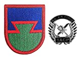 Air Force Tactical Air Control Party (TACP) Beret Crest Badge with FLASH (Military Issued)-Veteran Owned Business
