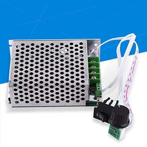 Regulador del Controlador de Velocidad del Motor, DC 10V-50V 40A Regulador del Controlador de Velocidad del Motor Interruptor de dirección inversa