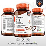 Zoom IMG-2 vitamina b12 1000 mcg metilcobalamina