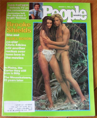 People Weekly Magazine August 11, 1980 (Brooke Shields, Chris Atkins, Blue Lagoon)