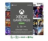 Un abonnement unique regroupant : le Xbox Game Pass pour console (Xbox One), le Xbox Game Pass pour PC, le cloud gaming sur téléphones et tablettes Android compatibleset le Xbox Live Gold pour jouer en en ligne sur console (Xbox One) Plus de 200 jeu...
