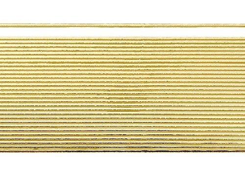 Wachsstreifen/Verzierwachs'Gold (glanz)' (30 Stück / 20 cm x 1 mm) TOP QUALITÄT
