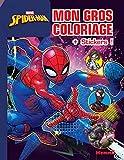 Marvel Spider-Man - Mon gros coloriage + stickers ! (Fond bleu)