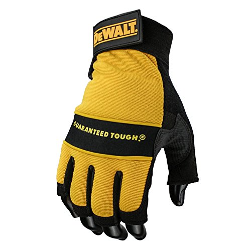 Dewalt - 1/2 Synthetic Padded Leather Palm Gloves