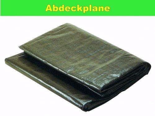 Plane dekzeil dekzeil dekzeil dekzeil zandbak afdekking van PE extreem scheurvast met oogjes groen 2 x 3 m
