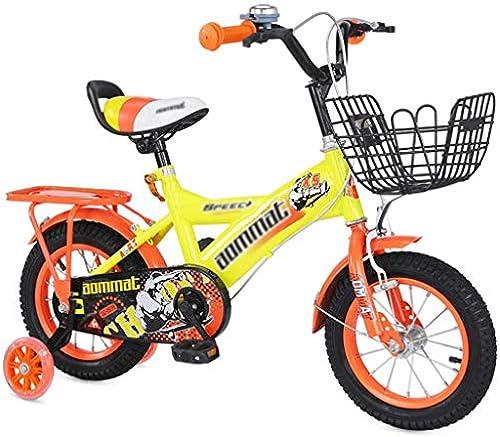 ETZXC Kinderfürr r Junge mädchen fürrad Kinder Outdoor fürrad Indoor Tretauto Kind Heimtrainer Kinder Dreirad -18inches