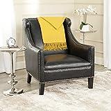 Safavieh Mercer Collection Mckinley Club Chair, Antique Black
