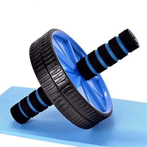 T-ara Abdominal Rad Anti-Rutsch-Reifen Hautrolle Bauch Rad Mute Einrad Bauch-Übung Fitness-Übung Bauchmuskelrolle Abdominal Rad, Sport-Fitness-Ausrüstung hohe Qualität (Color : Blue)