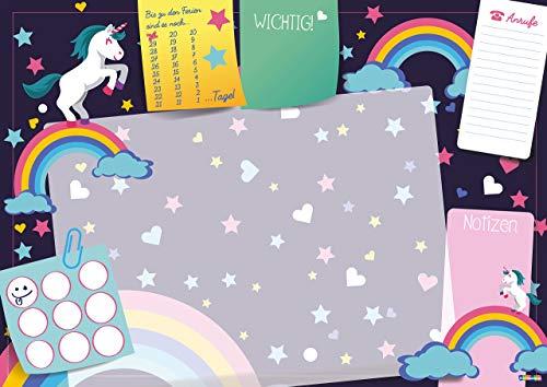 Divertido soporte para escritorio de unicornio 25 hojas de papel para formato DIN A3 para casa o la oficina