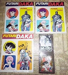懐かしのコミック アニメグッズ ふたり鷹 新谷かおる ステッカー パスケース 定期入れ まとめて