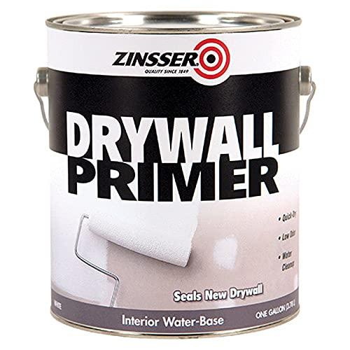 1 gal Zinsser 01501 White Zinsser, Drywall Primer Seals New Drywall Pack of 1
