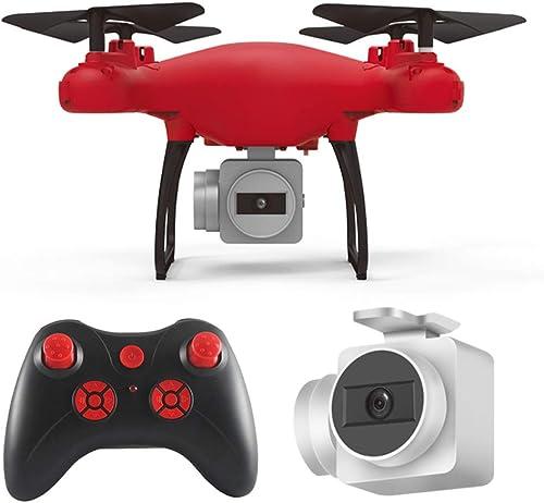 TLgf HR UAV,1080p HD-Quadcopter SH4 20 Minuten Lange Akkulaufzeit RC Fliegerfernsteuerung Echtzeitübertragung, geeignet für Einsteiger