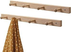 Best wooden peg rail Reviews