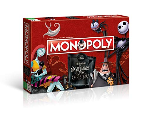 Winning Moves win44710 – Juego de Cartas Monopoly: Nightmare Before Christmas