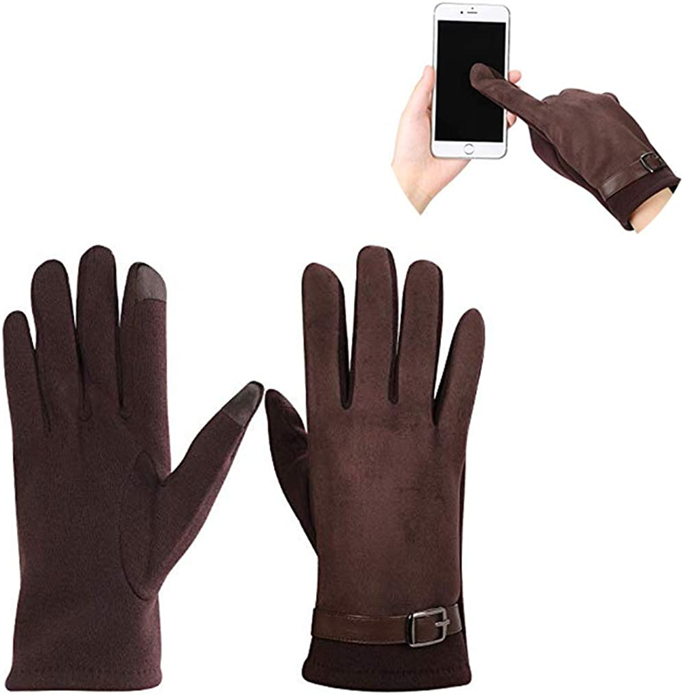 Unisex Winter Touchscreen Texting Gloves Thick Warm Driving Running Riding Mittens
