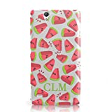 Dyefor PERSONALISED WATERMELON MONOGRAMMED MOBILE PHONE