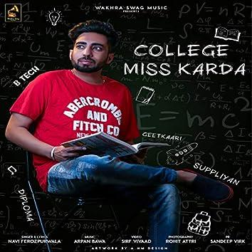 College Miss Karda (feat. Raashi Sood)