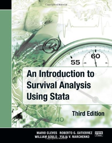 An Introduction to Survival Analysis Using Stata, Third Edition by Mario Cleves William Gould Yulia Marchenko(2010-09-09)