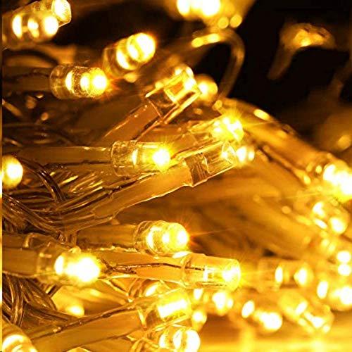Avoalre Catena Luminosa 250 LEDs 50M Luci Natale 8 Modalità Stringa Luci Interno/Esterno Impermeabile LED Luci Decorative Per Atmosfera Romantica Camera Festa Nozze Compleanno, Bianco Caldo