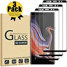CHENIB [3 Pack] for Samsung Galaxy Note 9 Screen Protector, Tempered Glass [Case..