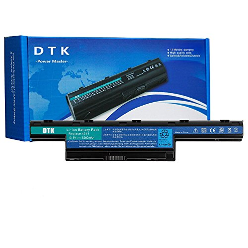DTK AS10D31 AS10D51 AS10D3E AS10D41 AS10D73 AS10D81 Laptop Battery for Acer Aspire V3-571G V3-771 5742 5733 E1-571 5750 5750G 5742z 5755G V3-771G 7551 5740 V3-571 4741 TravelMate P253-M 10.8v 5200mAh