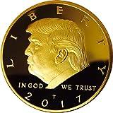 Donald Trump 2017 President Inaugural Gold EAGLE Commemorative Coin in Plastic Protective Case