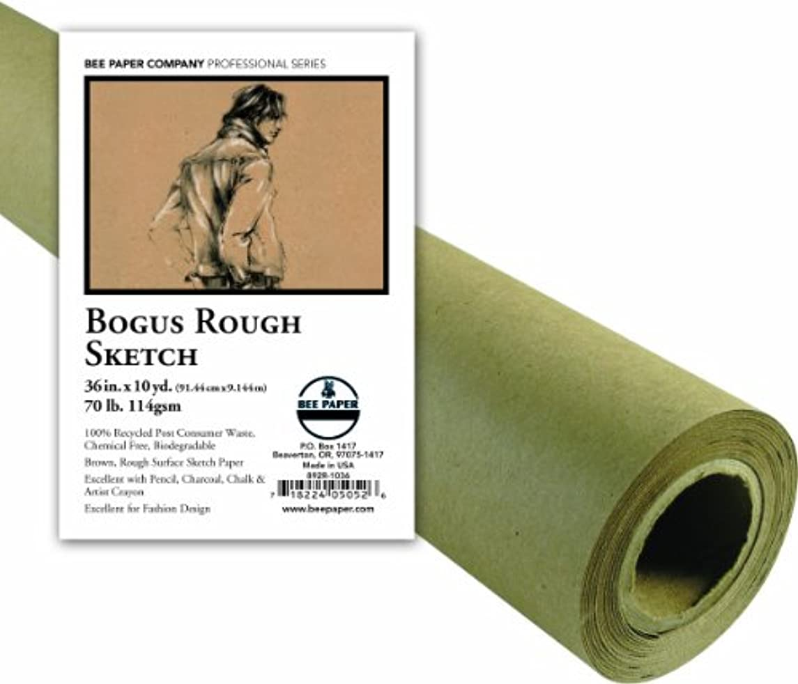 Bee Paper Bogus Sketch Roll, 36-Inch by 10-Yards