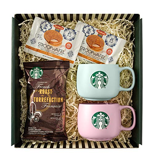 Starbucks Affection Gift Box with Greeting Card, 5 Piece Set