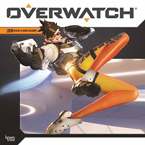 Price comparison product image Overwatch 2018 12 x 12 Inch Monthly Square Wall Calendar,  Video Game Multiplayer Shooter Blizzard Entertainment (Multilingual Edition)