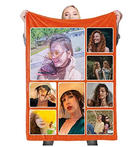Manta sofá Personalizada/Franela Mantas con Fotos Personalizadas /Cama Personalizada Mantas /San Valentín día de la Madre Cumpleaños Regalo150X200cm