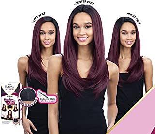 FREEDOM PART 201 (1 Jet Black) - FreeTress Equal Synthetic Lace Front Wig
