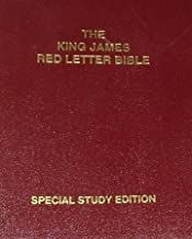 the king james red letter bible special study edition