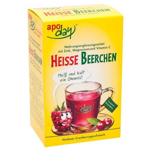 APODAY heiße Beerchen Vit.C Zink Magnesium Pulver