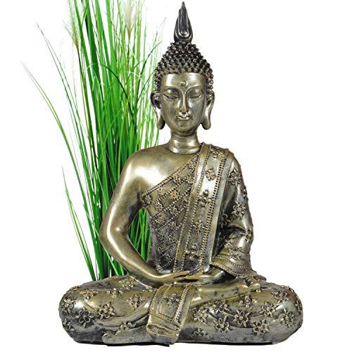 Buddha Statua Cinese 40cm Decorazione Zen per Interno Feng Shui