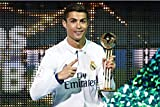 Football Soccer Super Star, Rompecabezas de madera for adultos Niños, Cartel de Cristiano Ronaldo, 500/1000/1500 Piezas for Boy Girl Friends Regalo Juguetes Juego Decoración del hogar Descompresión an