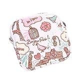 Dorical Damenbinde Taschen Wasserdichte Aufbewahrungstasche, Kulturtasche, Toilettentasche, mit...