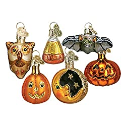 Fall and Halloween ornaments